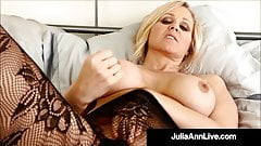 Incredible MIlf Julia Ann JOI While Changing Lingerie!