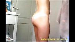 Cousin hidden cam bathroom
