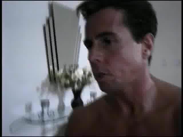 Fucking a blonde in bubblebath