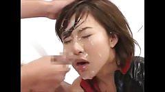 FACES OF CUM Azusa Kyono