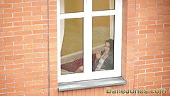 Dane Jones Voyeur fucks his sexy neighbour