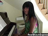 RealBlackExposed - Tila Flame shows off her tits and butt wh