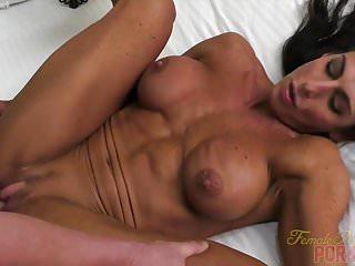 Preview 1 of Female Bodybuilder Fucks Her Boyfriend Briana Beau