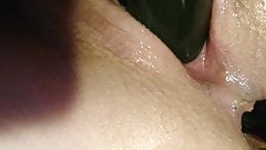 Wet and slutty anal training