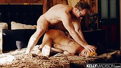 Julie Kay Takes White Cock In Her Asshole