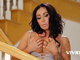 Vivid.com - Amazing MILF catches her stepson jerking off