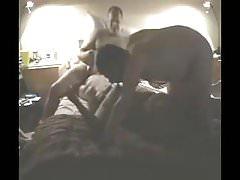 Amateur - Bisex MMF Thressome on Webcam