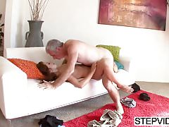 Ariana Grand seducing her horny stepdad