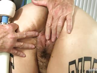 Preview 5 of BBW Big Tender Has Her Fat Body and Hairy Pussy Massaged
