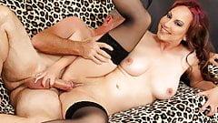 Older Skut Zoe Matthews Takes Thick Cock