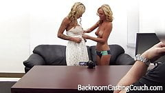 2 Big Tit Girlfriends Compete for Porn Jobs That Don't Exist