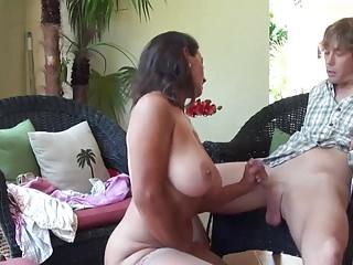 Preview 3 of Stepmom & Stepson Affair 86 (Mommy's Sex Education)