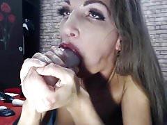 skinny slut gagging deepthroat anal fucktoy