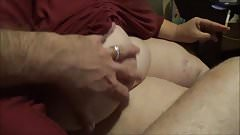 Fat BBW Milf and Little Gay Dick watching Tranny Porn