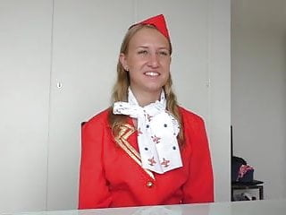 Preview 2 of Russian Air hostess fucked