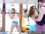 Brazzers - Big Tits In Sports - Abigail Mac Nicole Aniston a