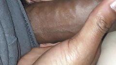 Cum on anal