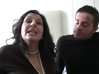 Preview 3 of Flirting and fucking a mature brunette