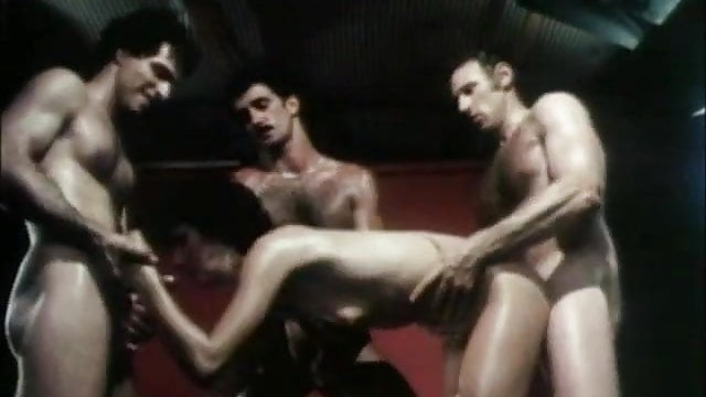 Preview 1 of Sharon Mitchell Gangbang