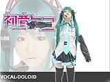 Cosplay Vocaloid - Hastune Miko pt3 of 5 (Censored)