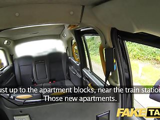 Preview 1 of Fake Taxi Busty sexy blondes holes stretched and fucked