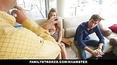familyStrokes - Grounded hide & Fuck