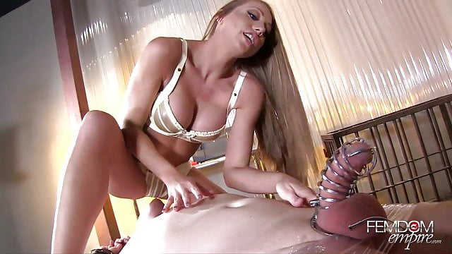 Preview 1 of Femdom Empire Shawna Lenee Spiked Chastity Tease
