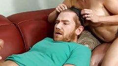 She fools him into a humiliating gay handjob