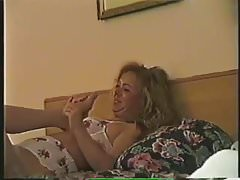 Lesbian Nylon Foot Worship and Oral, Stacy & Mila