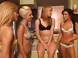 Tanner Mayes in a lesbian squirting orgy