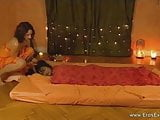 Relaxing and erotic tantra massage by two gorgeous women