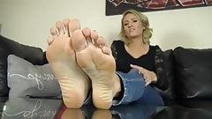 Reagan Lush Sexy Feet Sohlen