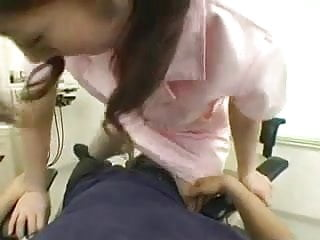Preview 2 of japanese dentist nurse care the patient