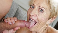 70+ mature lady still loves big dicks