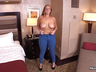 Preview 2 of Ginger gets thick ass fucked POV