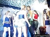 Sexual party chicks fucking in club
