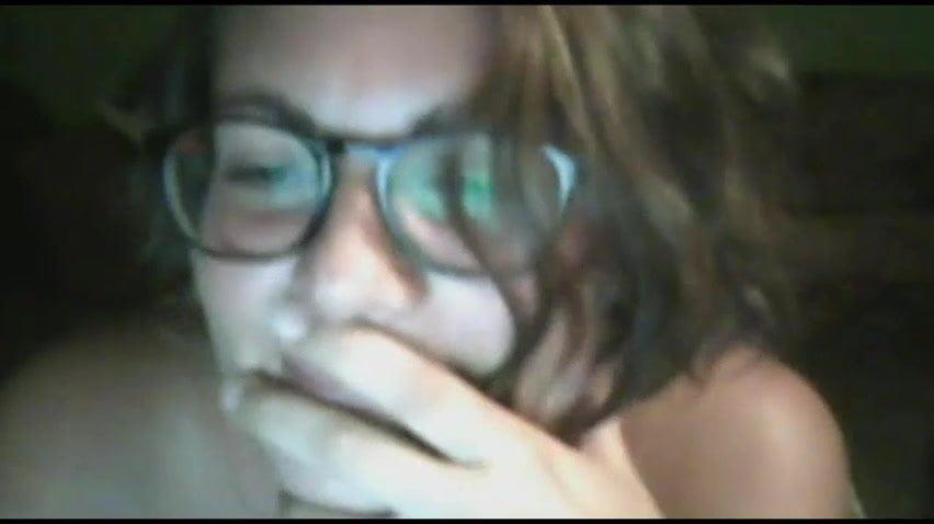 Nude cute teen girl show me all on skype webcam