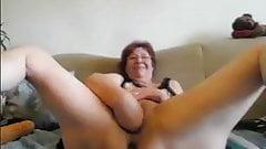 Sexy granny masturbate