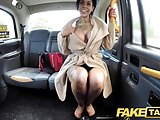 Fake Taxi Tattoos big juicy tits and long legs gets anal
