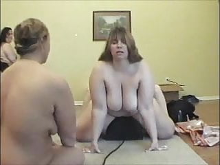 Preview 4 of BBW Hippy chick and other BBW's on Sybian