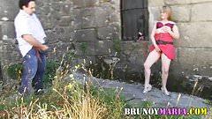 Gente de BrunoyMaria haciendo dogging en publico