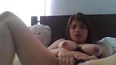 colombiana masturbandose