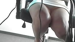 Beautiful Legs Office Worker