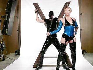 Helena Locke Dominates Tony Orlando During Their Photoshoot