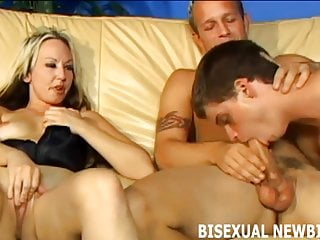 I will make sure your first bisexual threesome is amazing