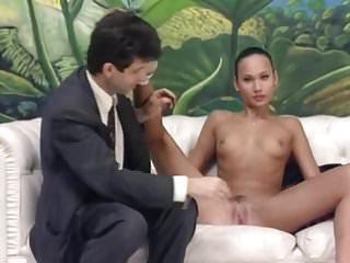 Skinny Stripping Photoshoot