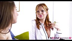British Stepmom tries a Teen Dick