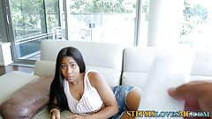 Ebony stepsister teen pov
