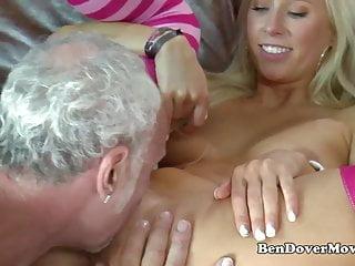 Grandpa fucks super cute Blonde Carla Cox