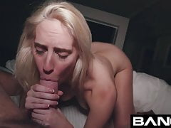 BANG Gonzo: Cadence Lux Blowjob Squirting Gonzo Queen's Thumb